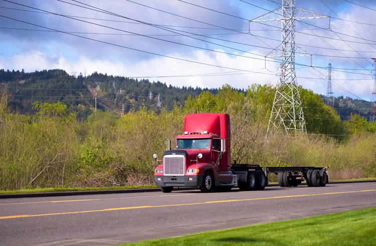 highboy semi truck